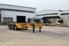 辉途骏12.5米34吨3轴集装箱运输半挂车(YHH9400TJZ)