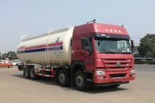 国六重汽42方低密度粉粒物料运输车