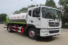国六 东风多利卡D9型15方护栏清洗车价格