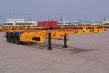 中集牌ZJV9368TJZ型集装箱运输半挂车图片