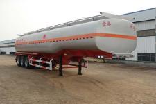 正康宏泰13米31.7吨3轴易燃液体罐式运输半挂车(HHT9403GRY)