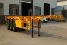 广科12.4米34.5吨3轴集装箱运输半挂车(YGK9400TJZG)