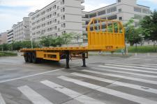中集12.3米33吨3轴平板半挂车(ZJV9404TPSZ)