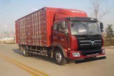 福田瑞沃国五单桥厢式运输车170-299马力5-10吨(BJ5156XXY-1)