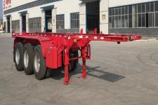 华鲁业兴8.5米35吨3轴集装箱运输半挂车(HYX9402TJZ)