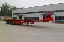 华鲁业兴12米33.4吨平板运输半挂车
