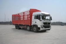 豪沃牌ZZ5317CCYN466GE1型仓栅式运输车