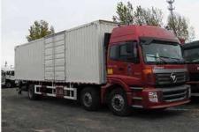 福田欧曼国五前四后四厢式运输车211-408马力10-15吨(BJ5257XXY-XA)