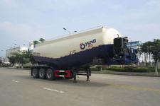 运力9.8米30.8吨3轴低密度粉粒物料运输半挂车(LG9404GFL)