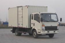 重汽HOWO轻卡国五单桥厢式运输车131-231马力5吨以下(ZZ5047XXYF341CE145)