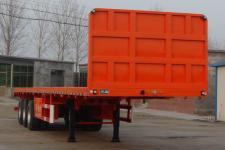 路飞12米33吨平板半挂车