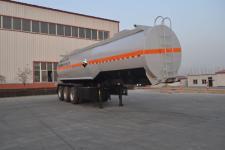 旗林10.6米31.6吨3轴腐蚀性物品罐式运输半挂车(QLG9406GFW)