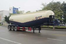 运力11.5米29.4吨3轴低密度粉粒物料运输半挂车(LG9402GFL)