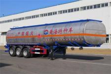 黄海11.7米31.2吨3轴易燃液体罐式运输半挂车(DD9407GRY)