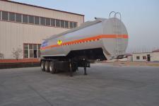 旗林10.6米31.6吨3轴氧化性物品罐式运输半挂车(QLG9400GYW)