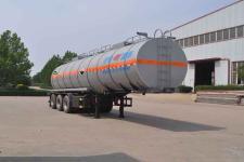 旗林10.8米30.5吨3轴腐蚀性物品罐式运输半挂车(QLG9400GFW)