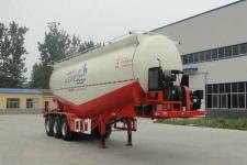 华鲁业兴9.9米31.7吨3轴下灰半挂车(HYX9400GXH)