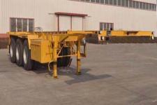 旗林9.7米34.9吨3轴危险品罐箱骨架运输半挂车(QLG9401TWY)