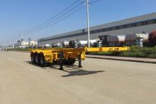 特运9.5米35.2吨3轴危险品罐箱骨架运输半挂车(DTA9403TWY)