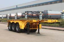 特运8.5米35.1吨3轴危险品罐箱骨架运输半挂车(DTA9400TWY)
