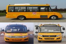 东风牌DFA6578KYX5B型幼儿专用校车图片2