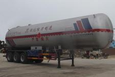程力威13米25吨3轴液化气体运输半挂车(CLW9403GYQB)