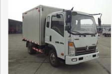 重汽王国五单桥厢式运输车129-212马力5吨以下(CDW5040XXYHA2R5)