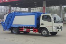东风小多利卡朝柴102马力6方压缩式垃圾车价格厂家直销