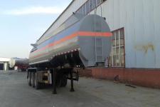 旗林10.8米31.2吨3轴腐蚀性物品罐式运输半挂车(QLG9408GFW)