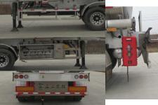 楚勝牌CSC9400GYYL型鋁合金運油半掛車圖片
