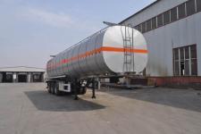 旗林11.7米32.6吨3轴铝合金易燃液体罐式运输半挂车(QLG9407GRYA)