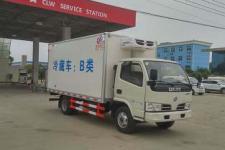国五东风蓝牌冷藏车