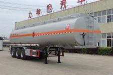 醒狮11.5米31.3吨3轴易燃液体罐式运输半挂车(SLS9407GRY)