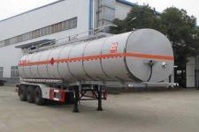 醒狮11.1米30吨3轴易燃液体罐式运输半挂车(SLS9401GRYB)