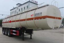 特运10.6米30.1吨3轴易燃液体罐式运输半挂车(DTA9405GRYA)