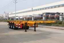 特运12.4米34.6吨3轴危险品罐箱骨架运输半挂车(DTA9405TWY)