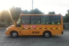 华新牌HM6570XFD5JS型小学生专用校车图片3