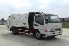 楚勝牌國五江淮130馬力發動機8方壓縮垃圾車價格