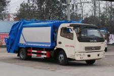 东风玉柴马力多利卡8方压缩式垃圾车价格