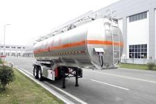 天明10.1米29.5吨2轴铝合金运油半挂车(TM9357GYYTF2)