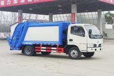 东风玉柴115马力6方压缩式垃圾车价格