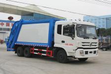 國五東風后雙橋新款14方壓縮垃圾車 13872879577
