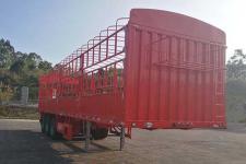 中集13米33.8吨3轴仓栅式运输半挂车(ZJV9404CCYSZ)
