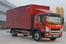 重汽HOWO轻卡国五单桥厢式运输车180-299马力5-10吨(ZZ5167XXYG521DE1A)