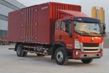 重汽HOWO轻卡国五单桥厢式运输车180-279马力5-10吨(ZZ5167XXYG471DE1A)