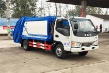 江淮6方壓縮式垃圾車