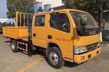 国五东风多利卡双排垂直升降式高空作业车