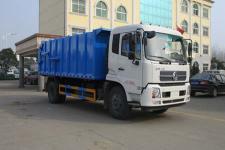國五東風天錦12方壓縮式對接垃圾車廠家直銷  價格優惠