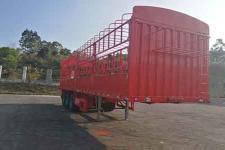 中集10米34吨3轴仓栅式运输半挂车(ZJV9406CCYSZ)