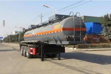 特运9.9米32吨3轴腐蚀性物品罐式运输半挂车(DTA9409GFW)